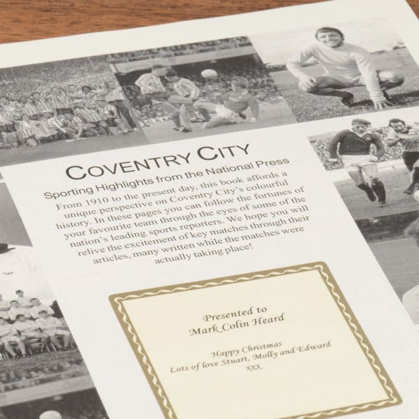 coventry football book