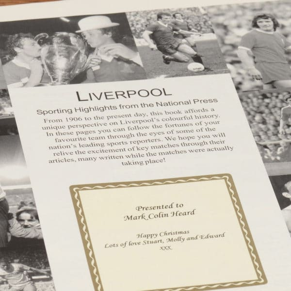liverpool football book