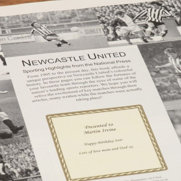 newcastle football book