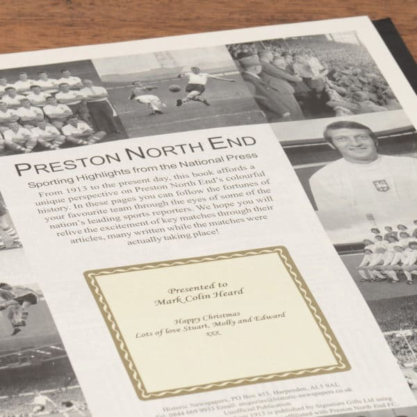 preston football book