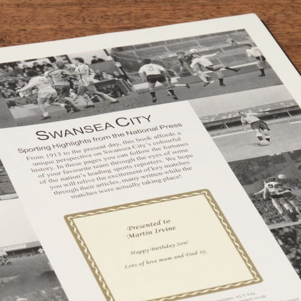 swansea city football book