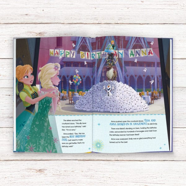 personalised frozen fever Disney book