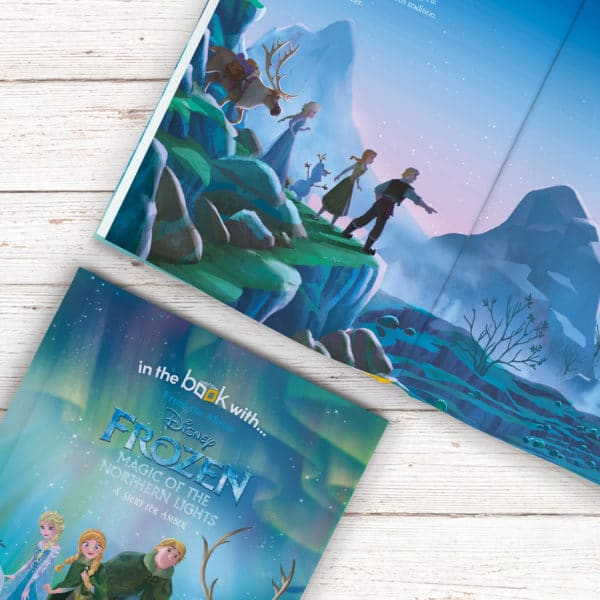 frozen northern lights book