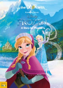 personalised frozen book