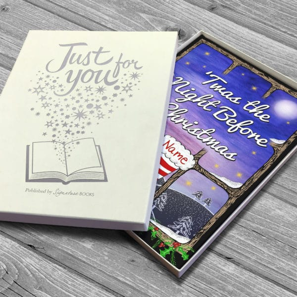 'Twas the Night Before Christmas Book personalised