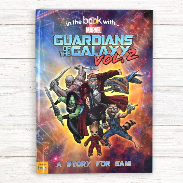 guardians of the galaxy 2 book