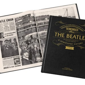 personalised beatles book