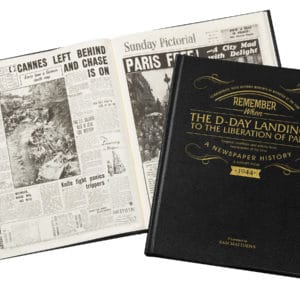 d day personalised book
