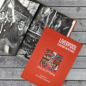 liverpool photo football history book