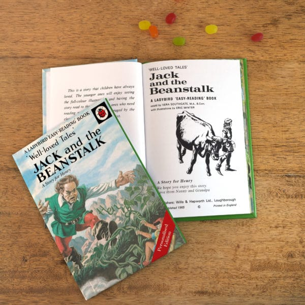 jack and the beanstalk ladybird book