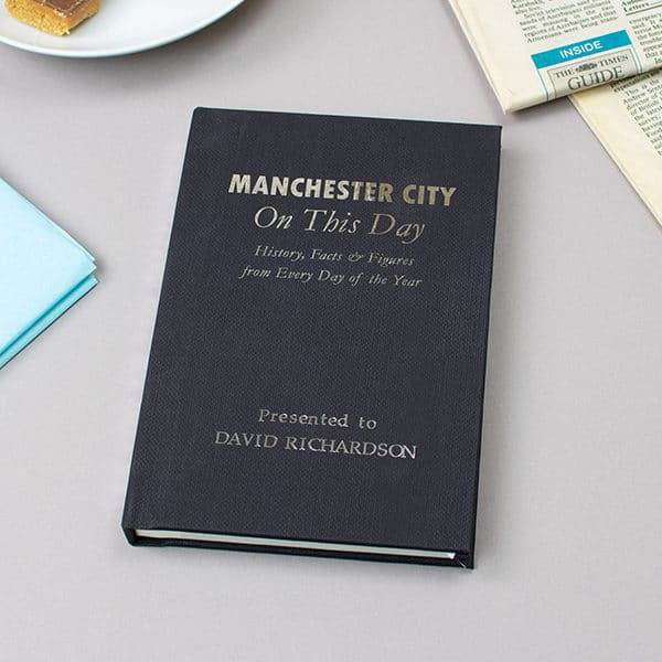 Manchester City On This Day Book