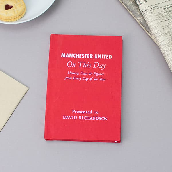 Manchester United On This Day Book