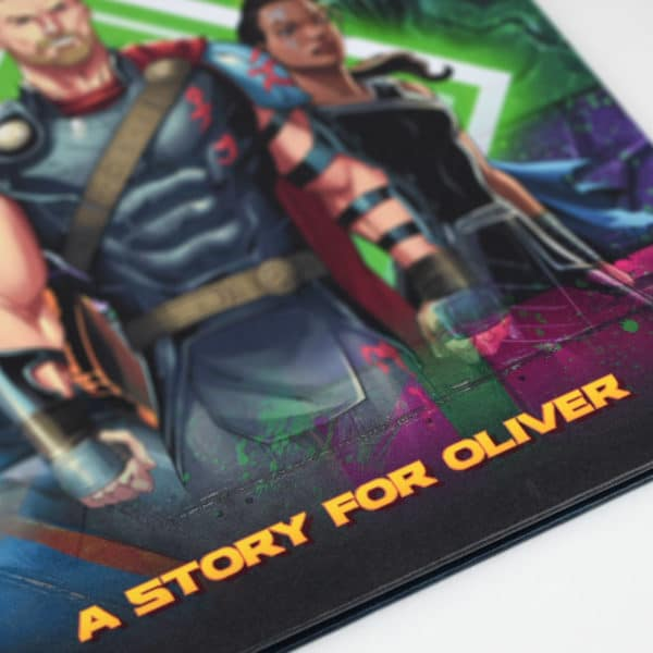 Personalised Marvel Thor book