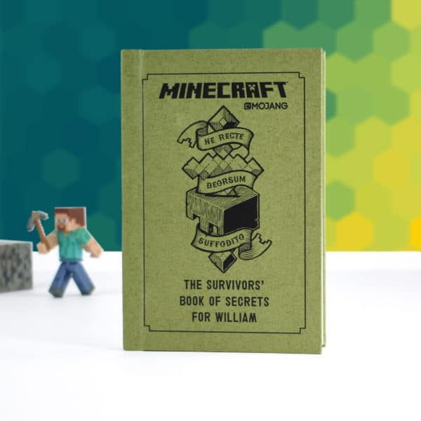 Personalised Minecraft survivors book