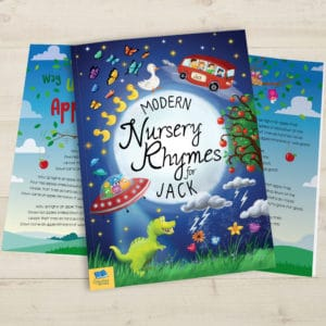 Modern nursery rhyme book