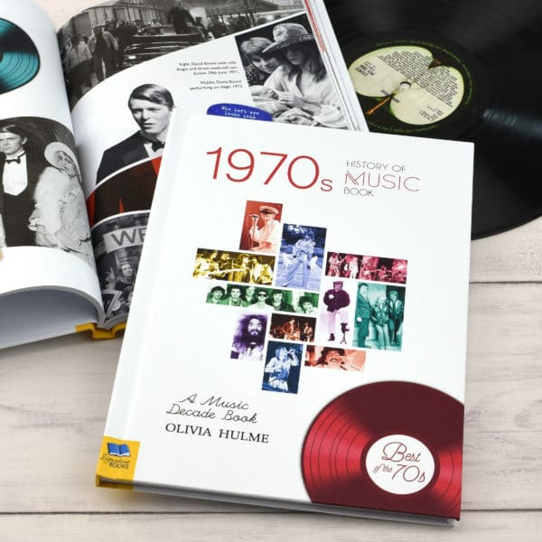 1970s Music Decade book