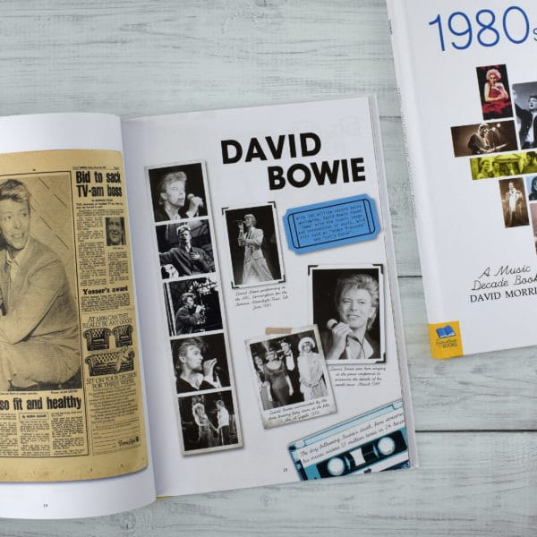 1980s Music Decade book