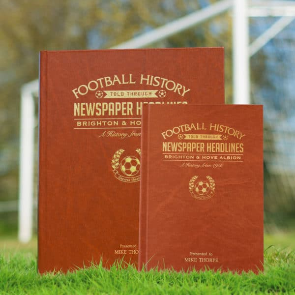 Personalised Football history of your team