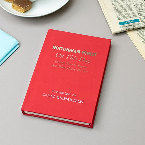 Nottingham Forest On This Day Book
