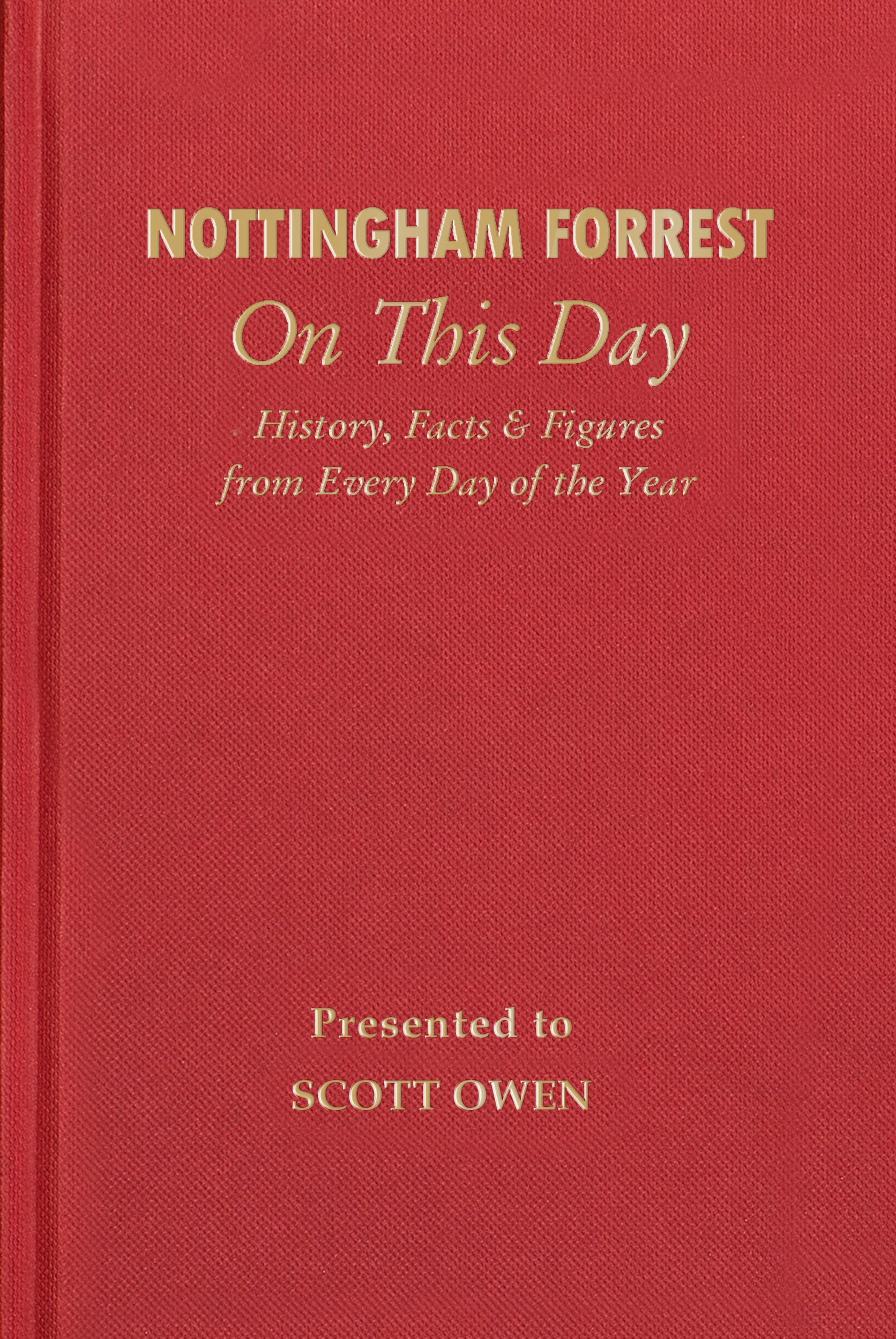 Nottingham Forrest Facts book