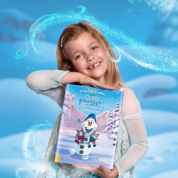 Olafs Frozen Adventure Personalised Book