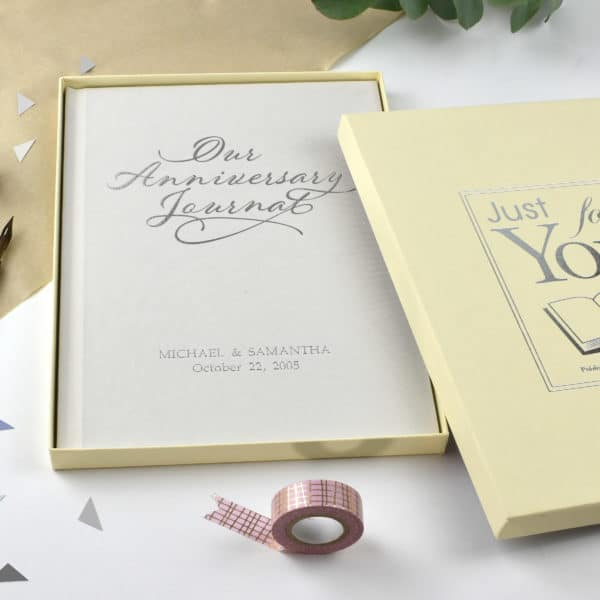 Our Anniversary Personalised Journal