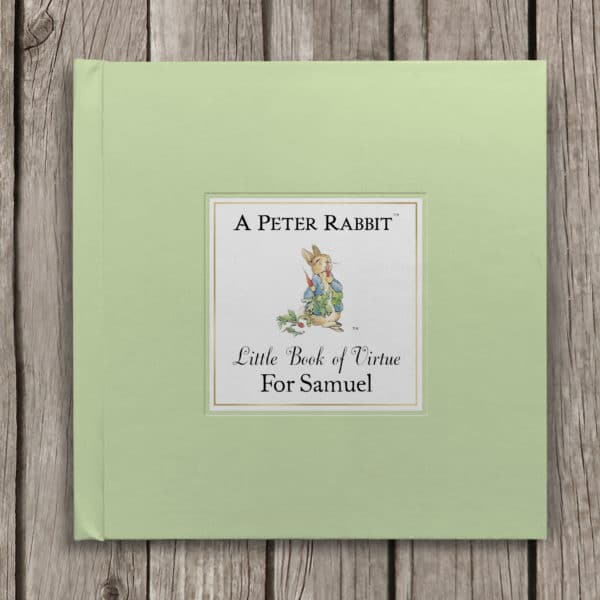 peter rabbit book of virtue