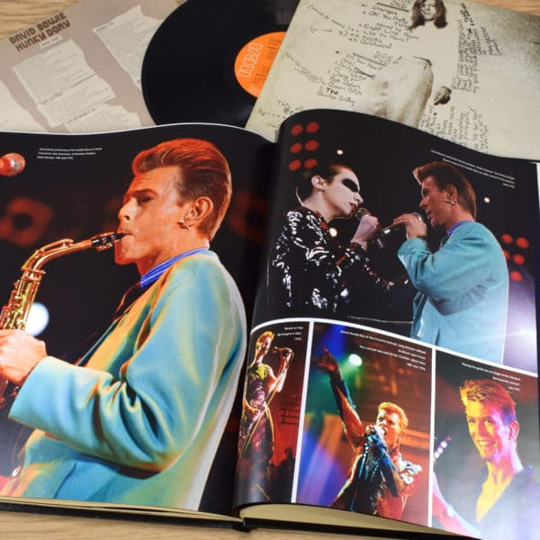 David Bowie commemorative book