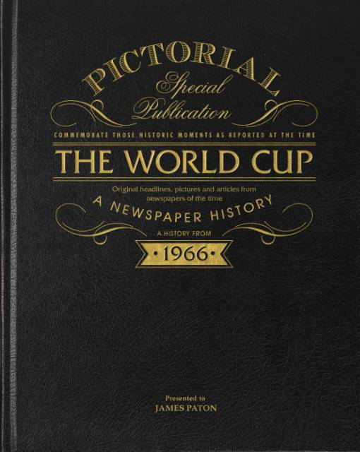 1966 world cup newspaper football history book