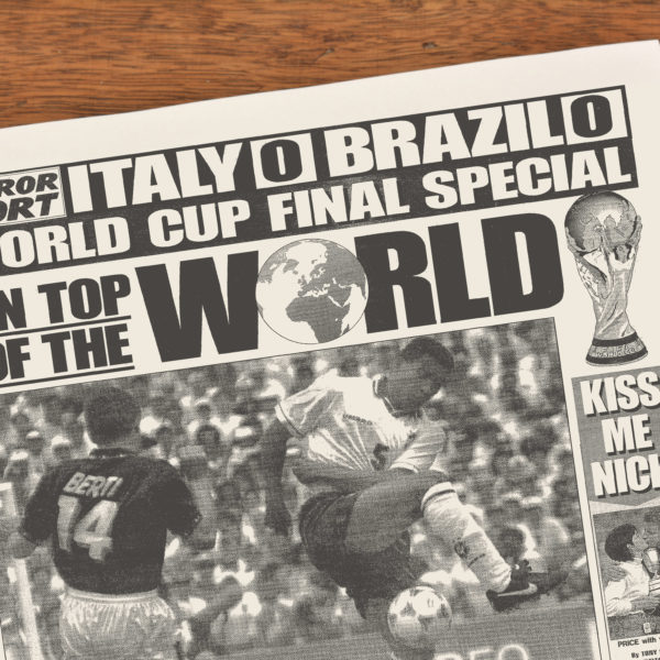 World Cup football history book