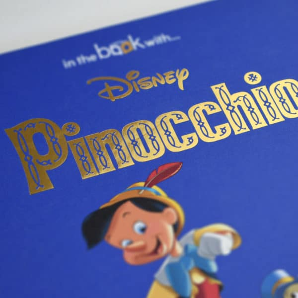 Personalised Disney Pinocchio Book