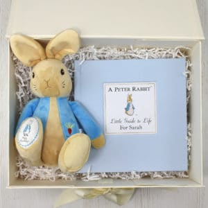 Personalised Peter Rabbit Book Plush Toy