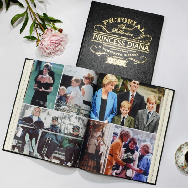 Princess Diana Newspaper Book