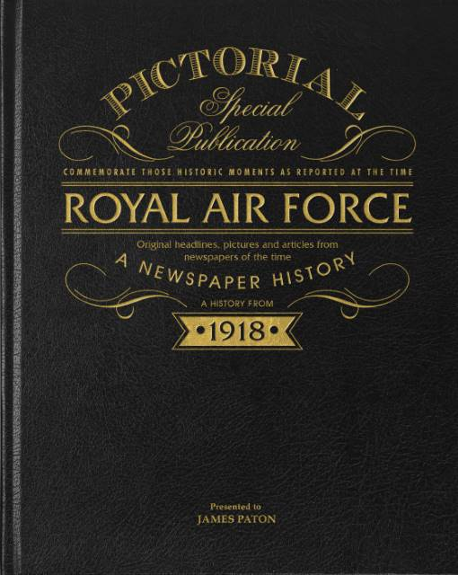 RAF newspaper history book