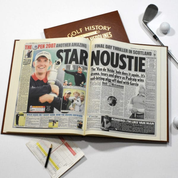Golf History Newspaper history book