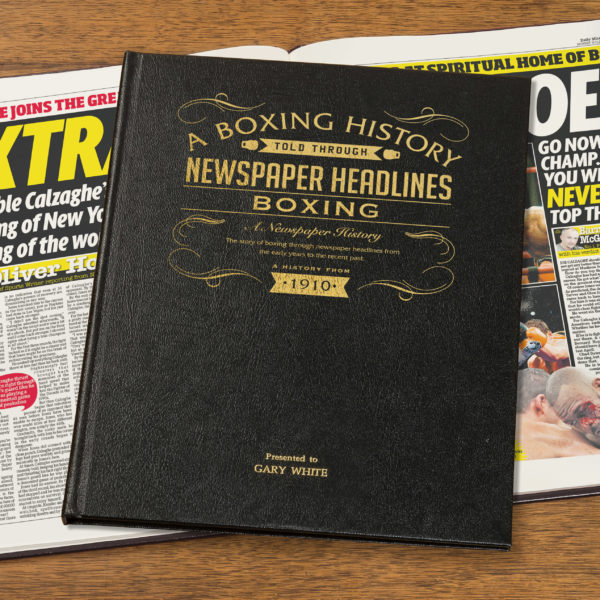 Boxing Newspaper history book