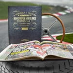 F1 Newspaper history book