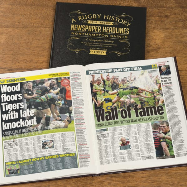 Northampton Rugby Newspaper history book