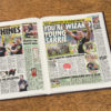 Saracens Rugby Newspaper history book