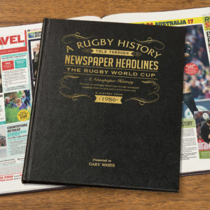 Personalised Rugby Books