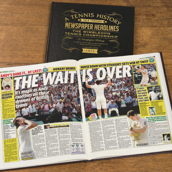 Tennis Newspaper history book