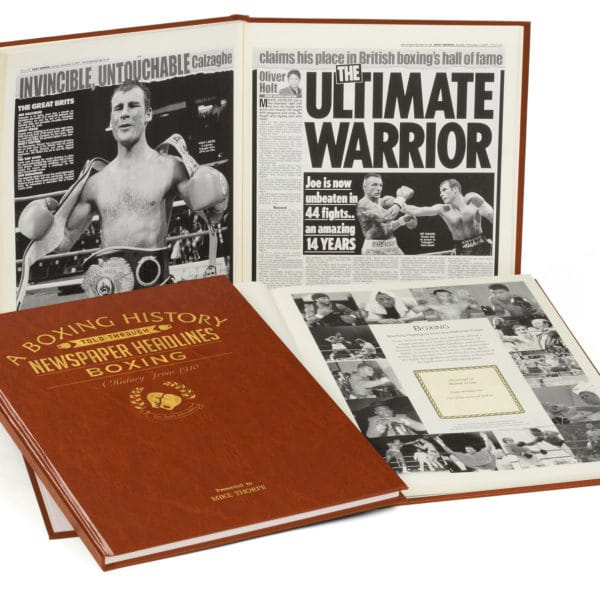 Boxing History Book