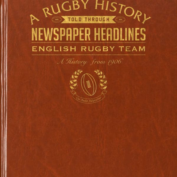 English Rugby History Book