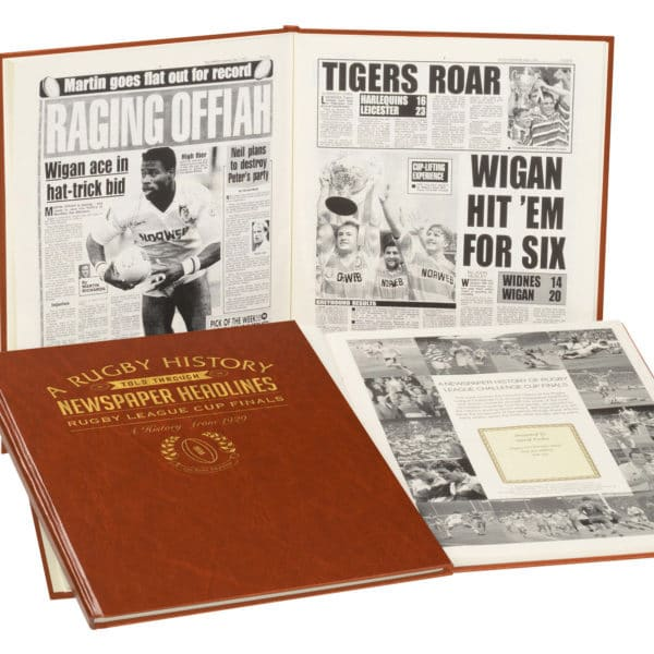 Rugby League Rugby Newspaper book