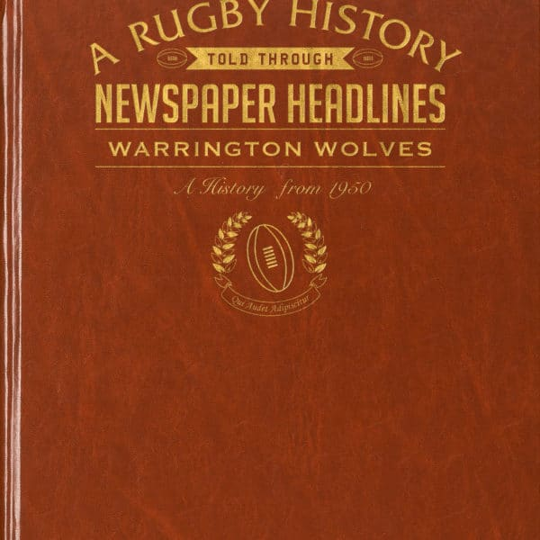 warrington rugby book