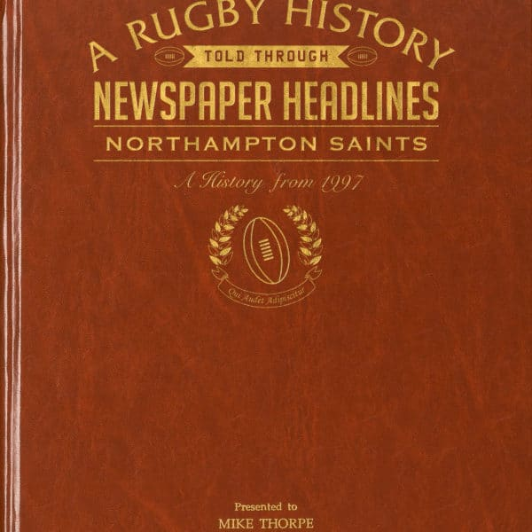 Northampton Rugby Newspaper book