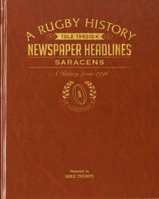 Saracens rugby book