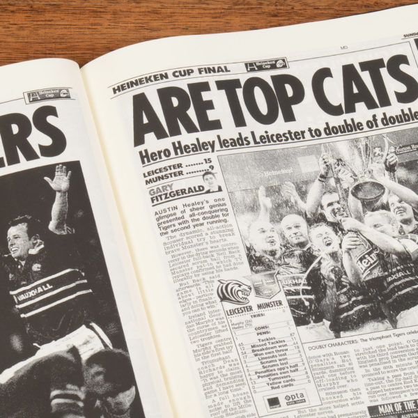 History of Rugby Leicester Tigers