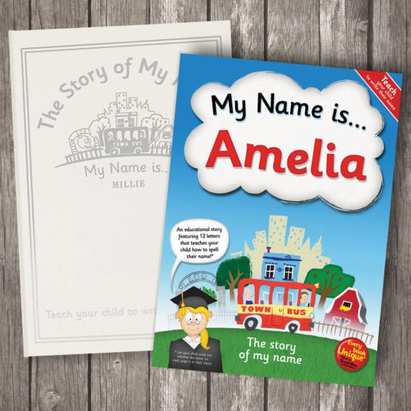 story of my name book
