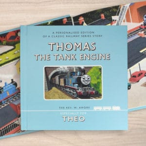 thomas the tank engine personalised book